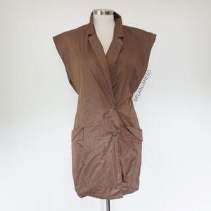 Dresses - Unique Vintage Retro 80s Trench dress